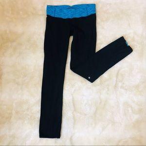 Lululemon black full length high rise leggings